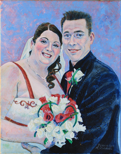 Wedding Picture of Audrey & Steve